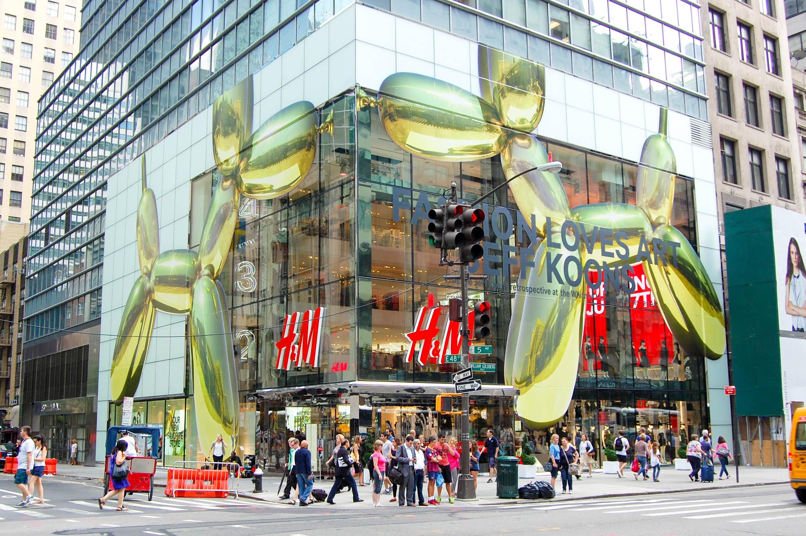 H&M 589 Fifth Avenue